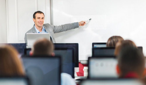 Higher Education Customer Icon