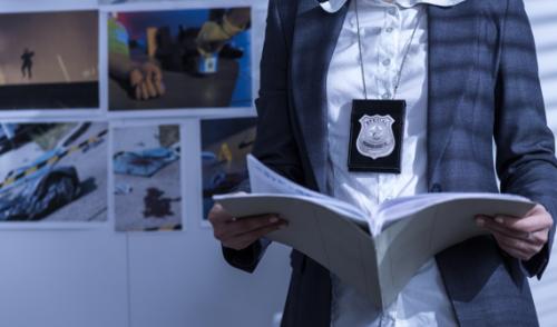 Law Enforcement Customer Icon